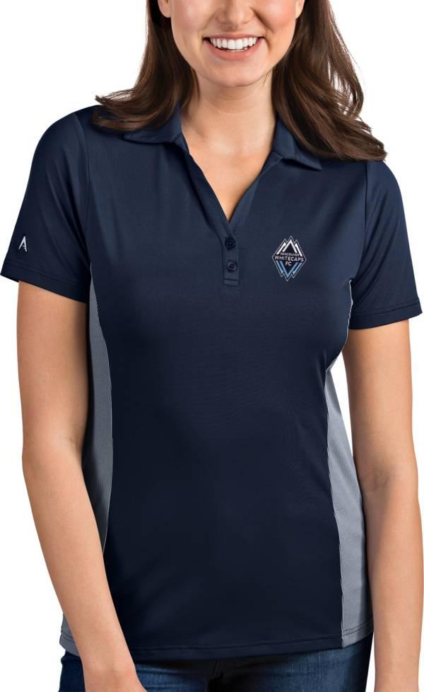 Antigua Women's Vancouver Whitecaps Venture Navy Polo product image