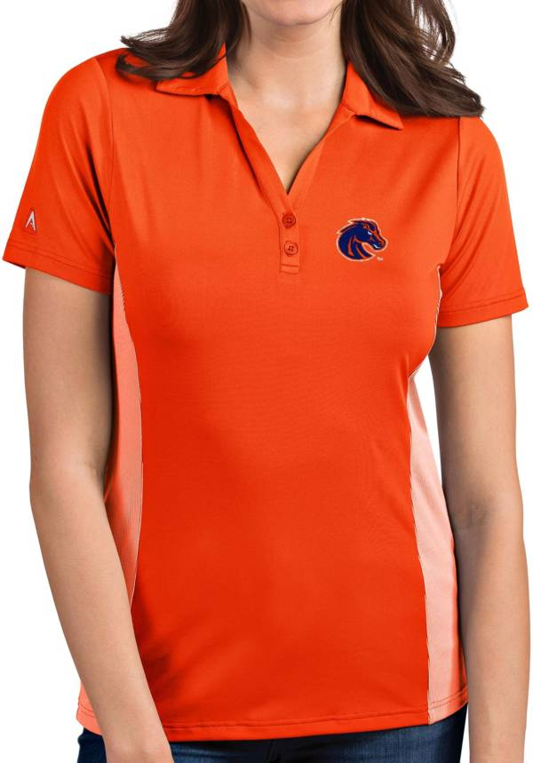 Antigua Women's Boise State Broncos Orange Venture Polo product image