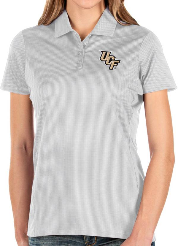 Antigua Women's UCF Knights Balance White Polo product image