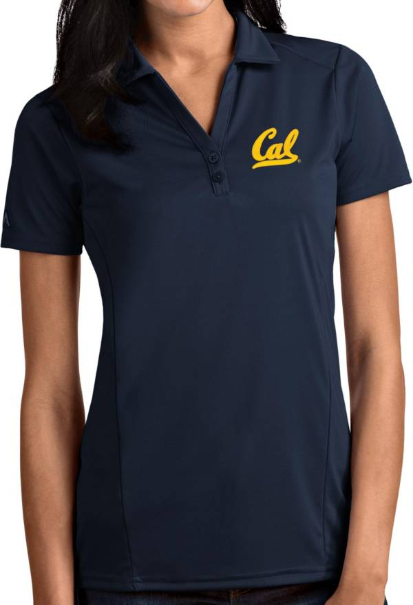 Antigua Women's Cal Golden Bears Blue Tribute Performance Polo product image