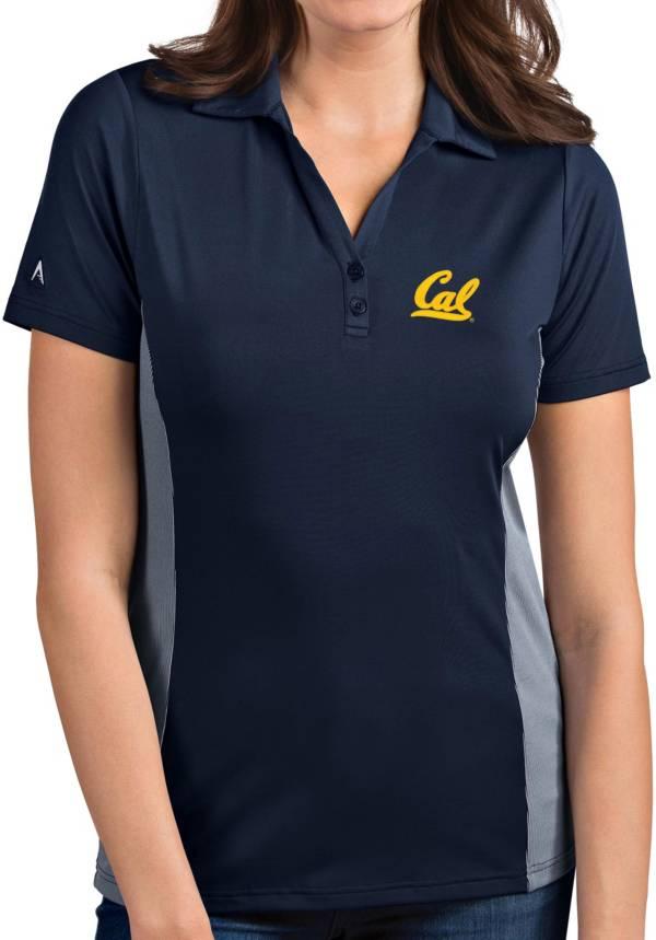 Antigua Women's Cal Golden Bears Blue Venture Polo product image