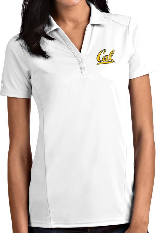 Antigua Women's Cal Golden Bears White Tribute Performance Polo product image