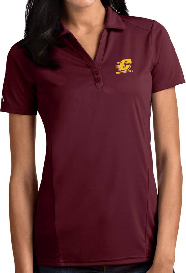 Antigua Women's Central Michigan Chippewas Maroon Tribute Performance Polo product image