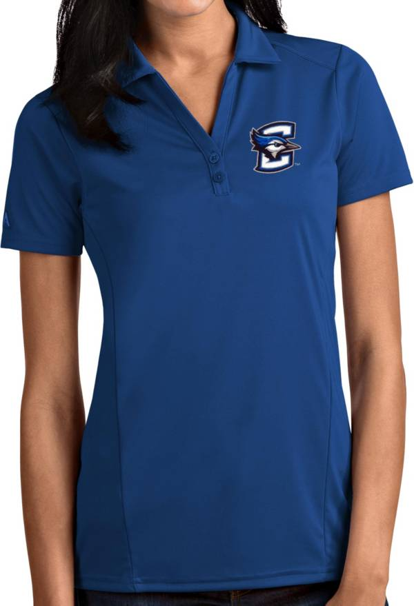 Antigua Women's Creighton Bluejays Blue Tribute Performance Polo product image