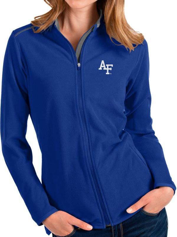 Antigua Women's Air Force Falcons Blue Glacier Full-Zip Jacket product image