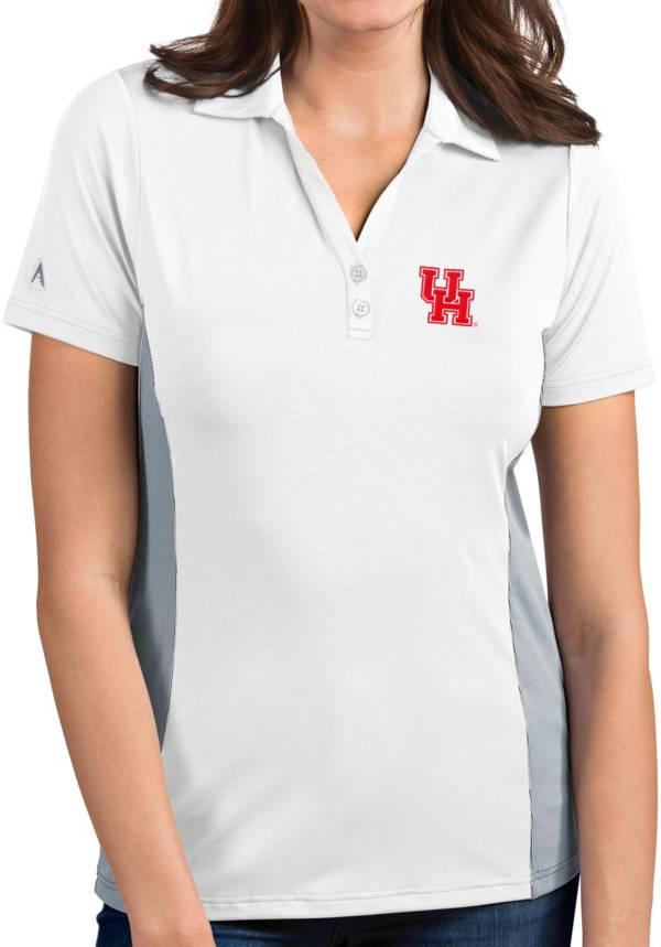 Antigua Women's Houston Cougars Venture White Polo product image