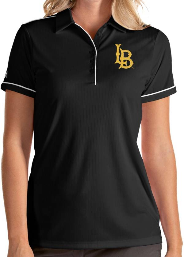 Antigua Women's Long Beach State 49ers Salute Performance Black Polo product image