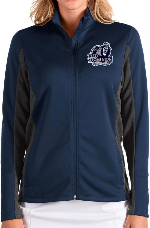 Antigua Women's Old Dominion Monarchs Blue Passage Full-Zip Jacket product image