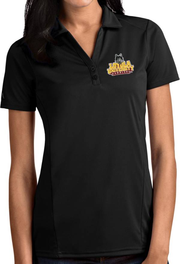 Antigua Women's Texas State Bobcats Black Tribute Performance Polo product image