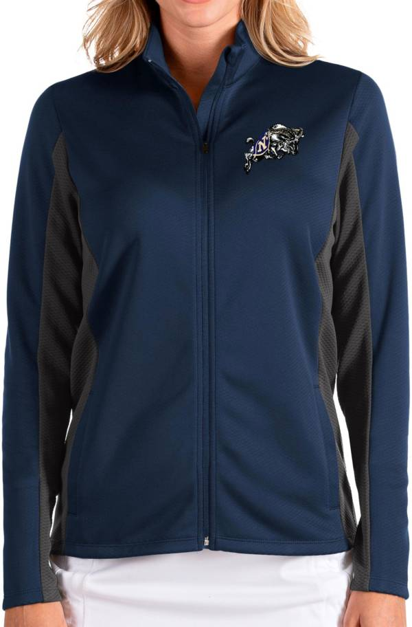 Antigua Women's Navy Midshipmen Navy Passage Full-Zip Jacket product image