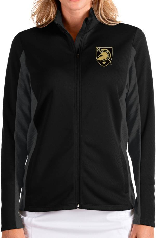 Antigua Women's Army West Point Black Knights Army Black Passage Full-Zip Jacket product image