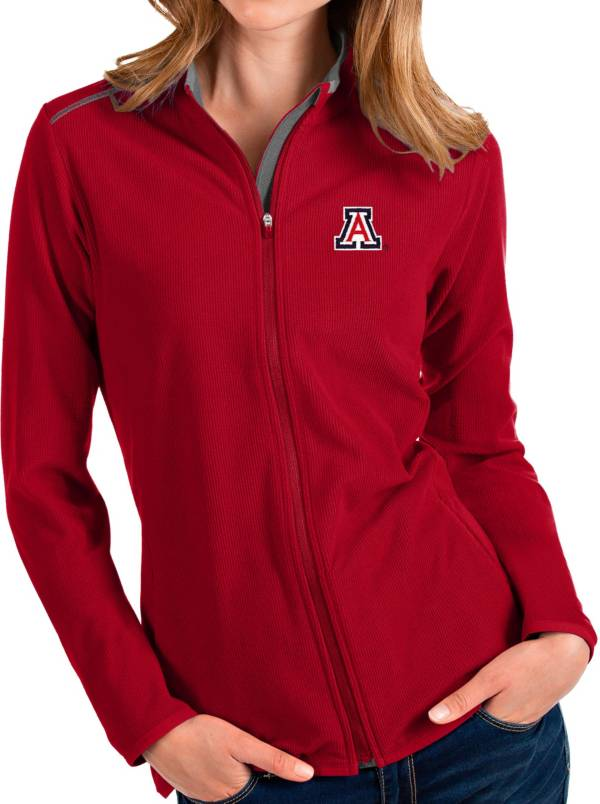 Antigua Women's Arizona Wildcats Cardinal Glacier Full-Zip Jacket product image
