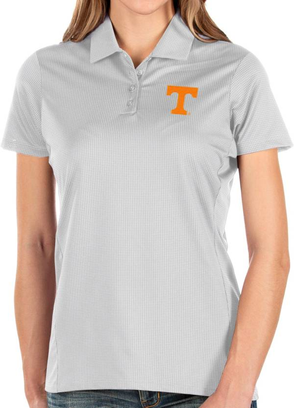 Antigua Women's Tennessee Volunteers Balance White Polo product image