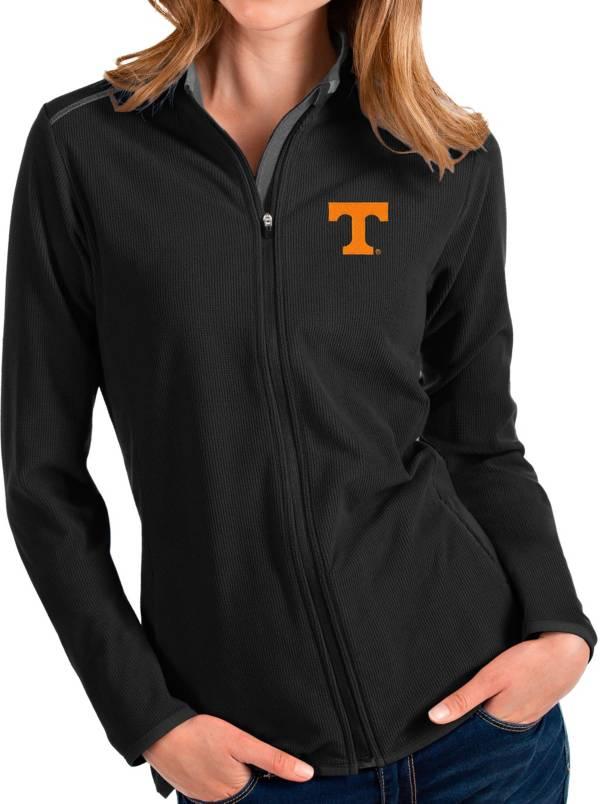 Antigua Women's Tennessee Volunteers Glacier Full-Zip Black Jacket product image