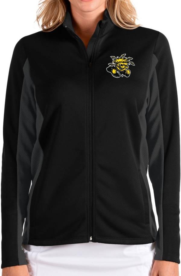 Antigua Women's Wichita State Shockers Passage Full-Zip Black Jacket product image
