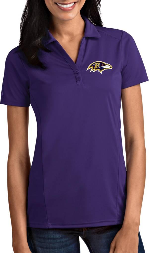 Antigua Women's Baltimore Ravens Tribute Purple Polo product image