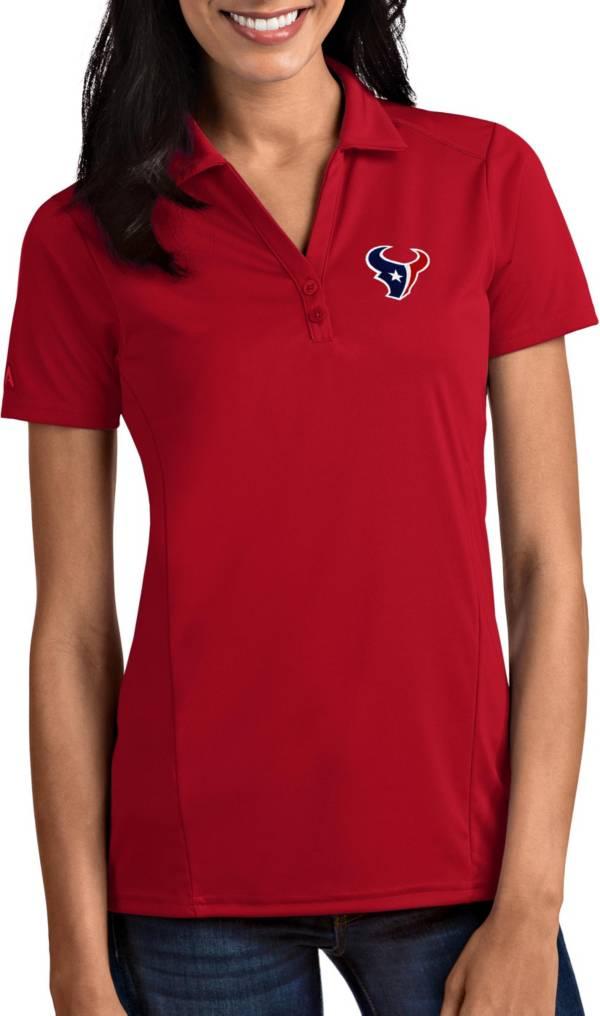 Antigua Women's Houston Texans Tribute Red Polo product image