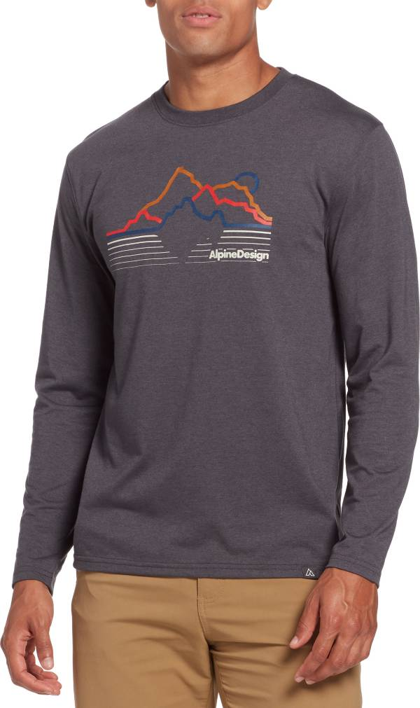 Alpine Design Men's First Mile Made Long Sleeve Terrain T-Shirt product image