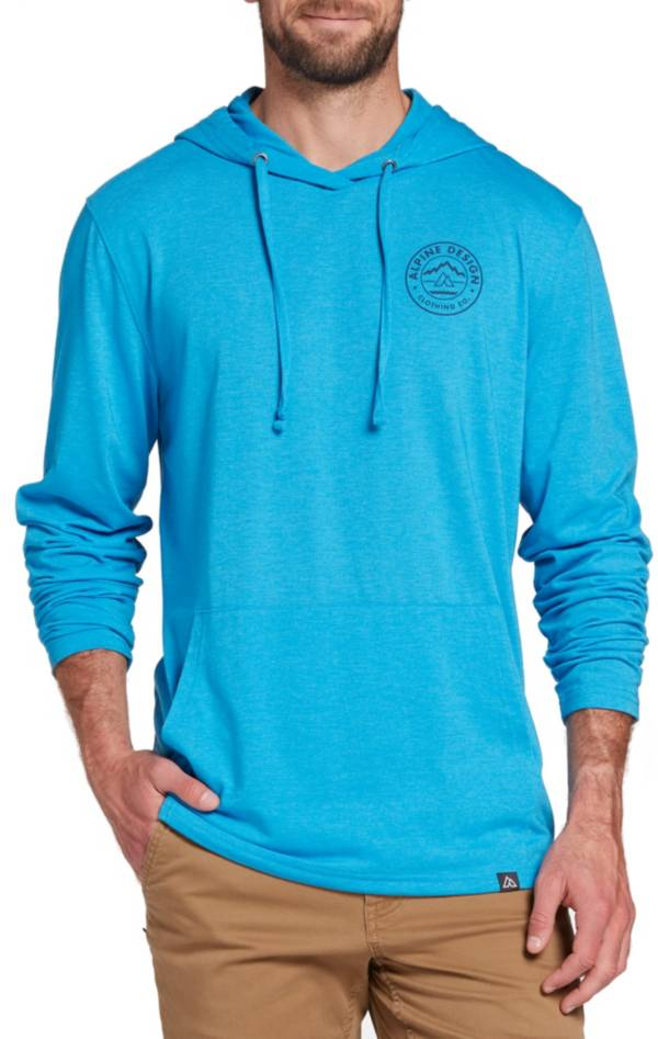 Alpine Design Men's First Mile Made Jersey Logo Hoodie product image