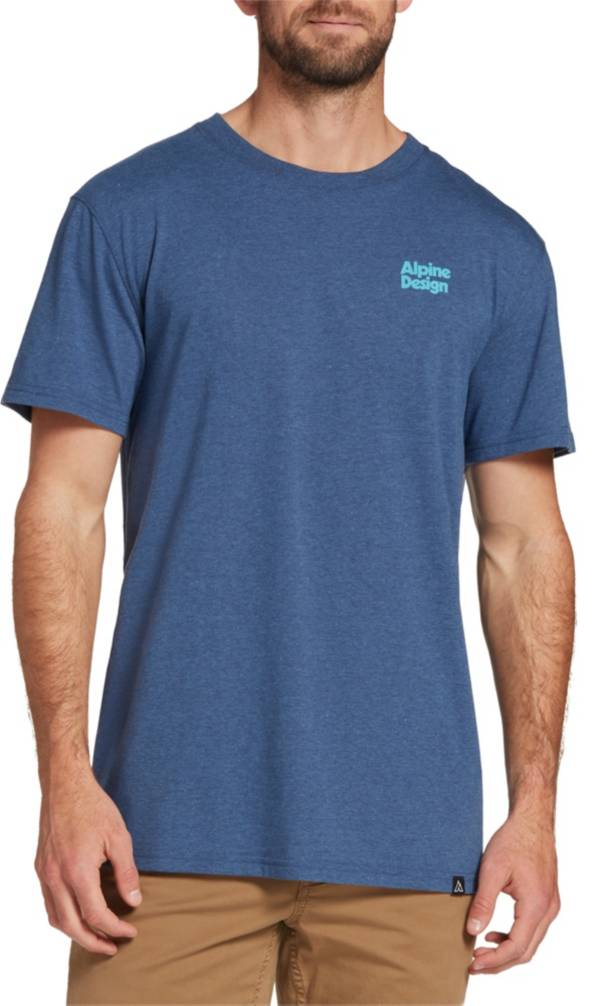 Alpine Design Men's First Mile Made Paper Mountain T-Shirt product image