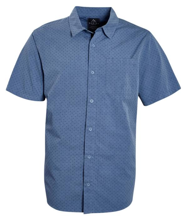 Alpine Design Men's Woven Button Up T-Shirt product image