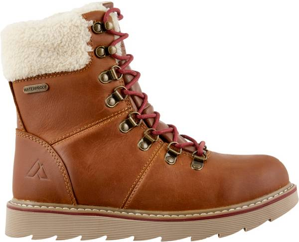 Alpine Design Women's Ember Ridge Leather 200g Waterproof Winter Boots product image