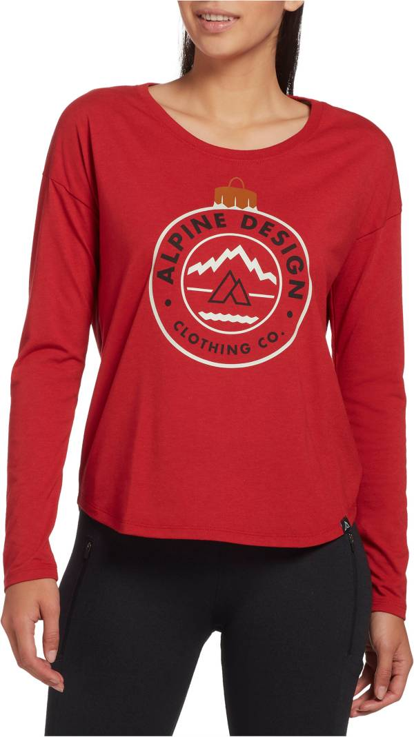 Alpine Design Women's First Mile Made Long Sleeve Ornament T-Shirt product image