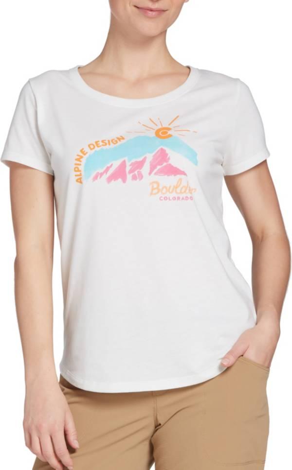 Alpine Design Women's First Mile Made Paint Boulder T-Shirt product image