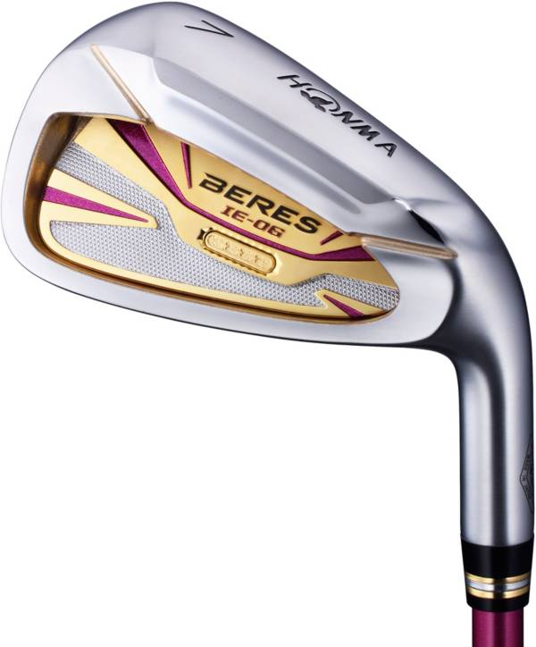 Honma Women's Beres IE-06 3-Star Individual Irons – (Graphite) product image