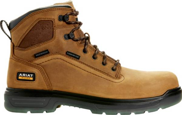 Ariat Men's Turbo 6'' Waterproof Carbon Toe Work Boots product image