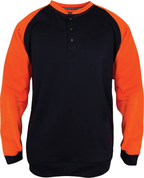 Arborwear Men's 2-Tone Tech Double Thick Henley Sweatshirt (Regular and Big & Tall) product image