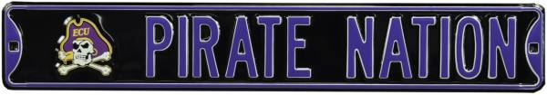 Authentic Street Signs East Carolina Pirates Pirate Nation Sign product image