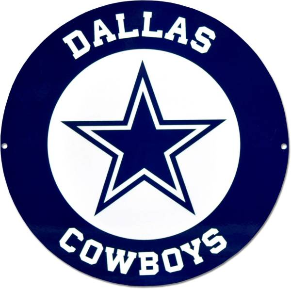 authentic street signs dallas cowboys steel logo sign | dick's sporting  goods  dick's sporting goods