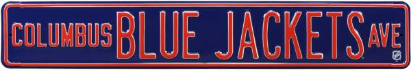 Authentic Street Signs Columbus Bluejackets Avenue Sign product image