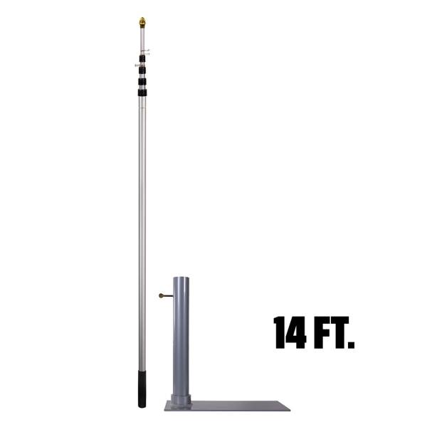 Flagpole-To-Go Tailgate Package product image