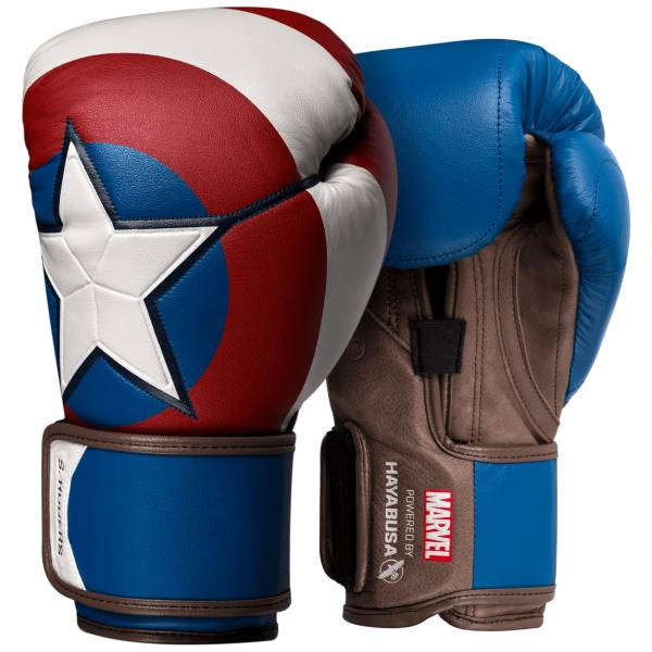 Hayabusa Captain America T3 Boxing Gloves product image