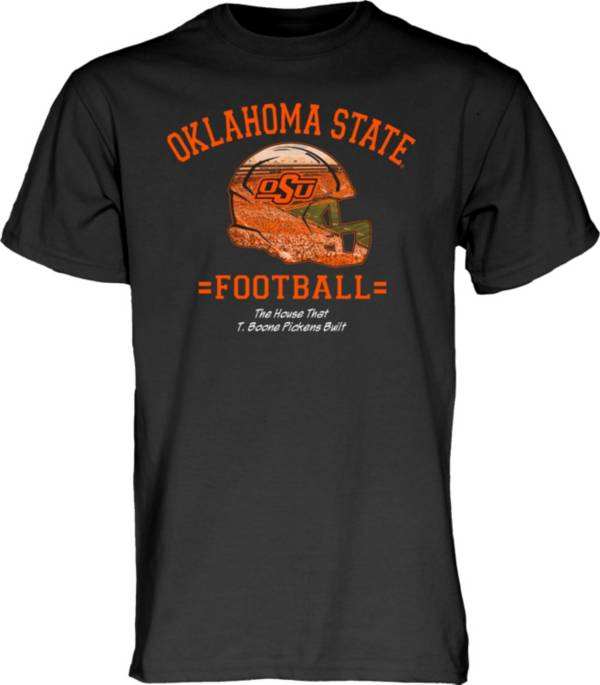 Blue 84 Men's Oklahoma State Cowboys T. Boone Pickens Football Black T-Shirt product image