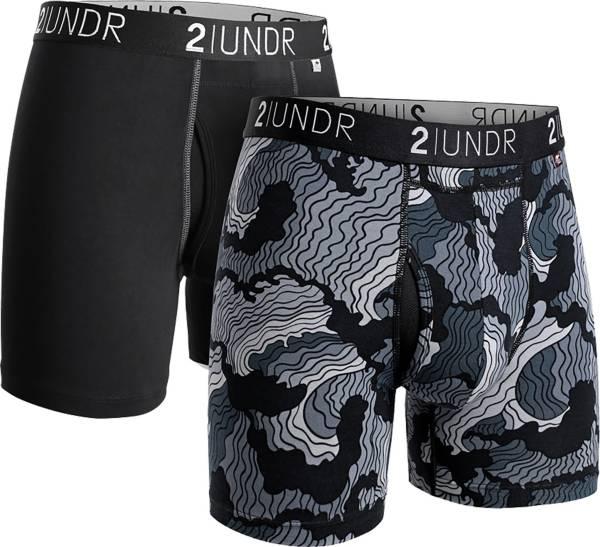 2UNDR Men's Swing Shift 6'' Boxer Briefs – 2 Pack product image
