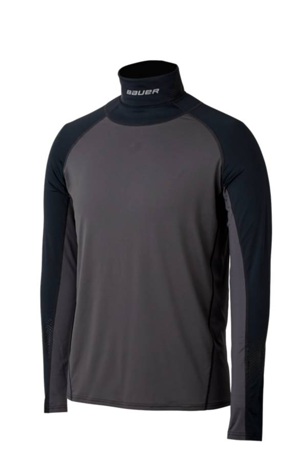 Bauer Men's Neck Protect Long Sleeve Hockey Shirt product image