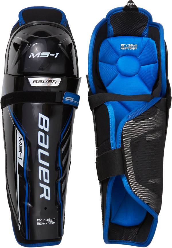 Bauer Junior MS1 Hockey Shin Guards product image