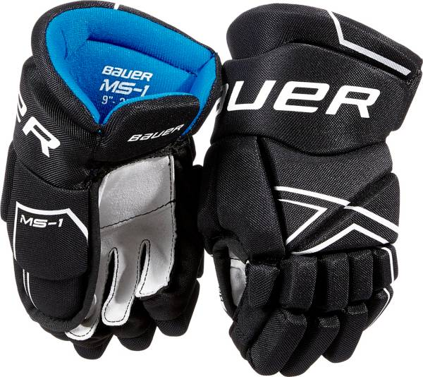 Bauer Youth MS1 Ice Hockey Gloves product image