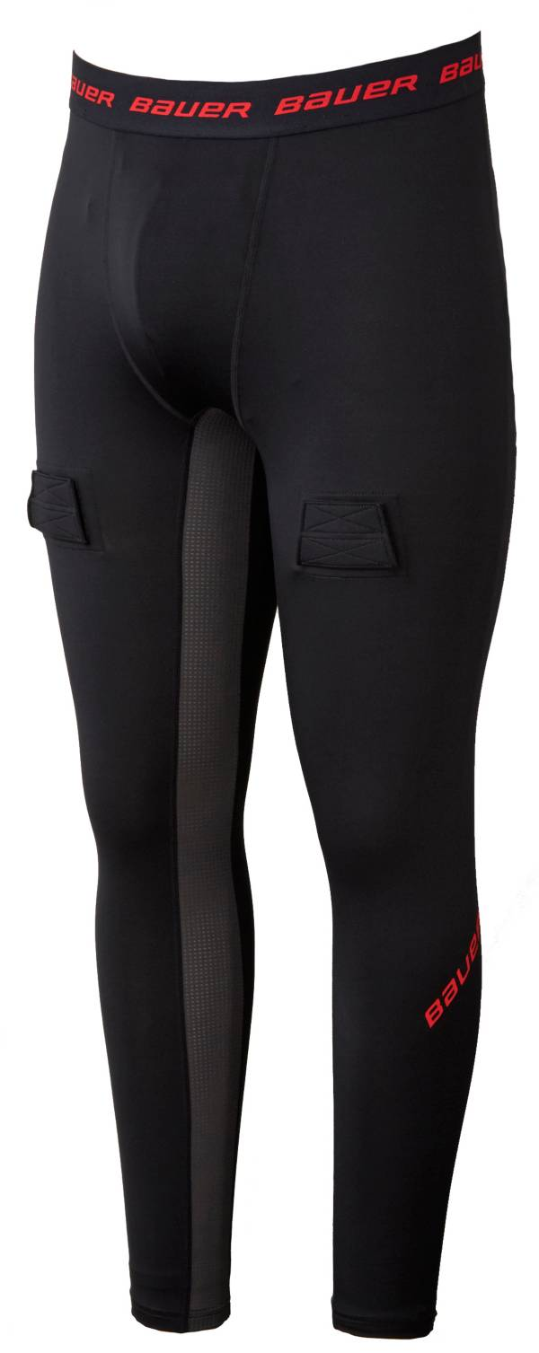 Bauer Youth Essential Compression Jock Hockey Pants product image