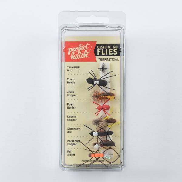 Perfect Hatch Grab N Go Terrestrial Fly Assortment product image