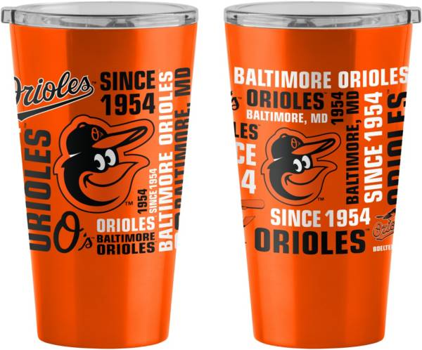 Boelter Baltimore Orioles Stainless Steel Pint Glass product image