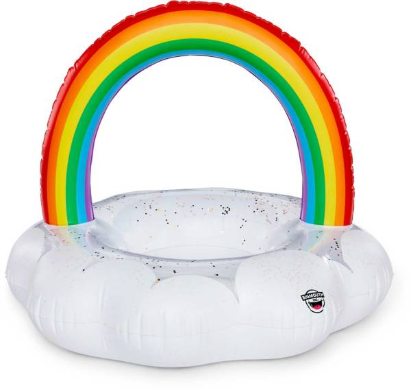 Big Mouth Giant Rainbow Cloud Pool Float product image