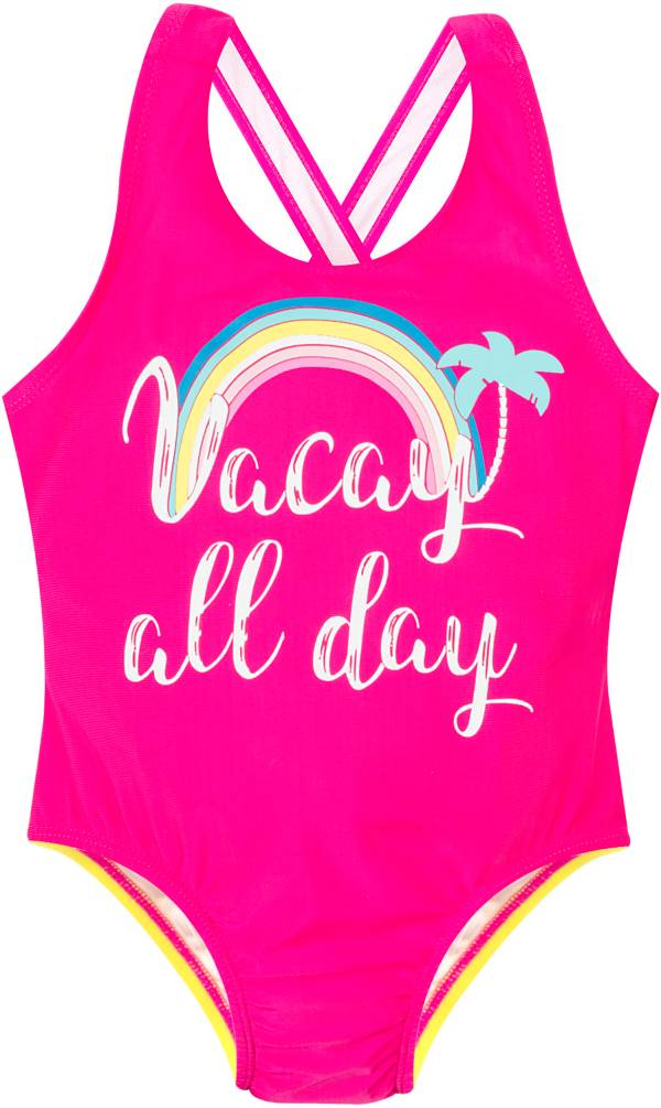 Banana Boat Toddler Girls' Crossback One Piece Swimsuit product image