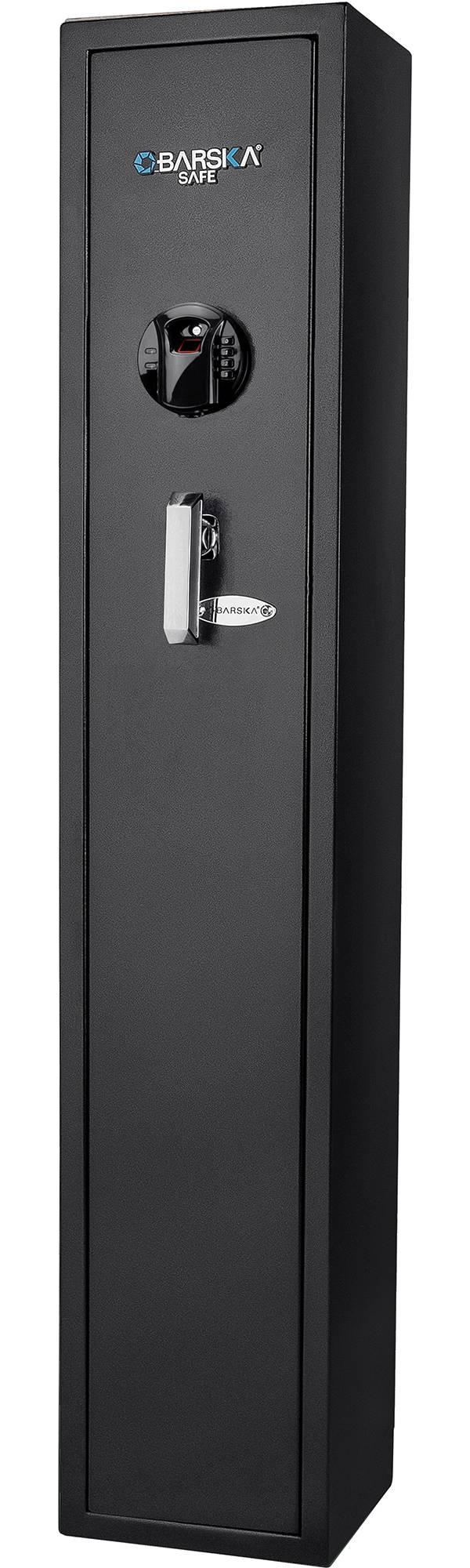 Barska HQ800 Standard Quick Access 4-Gun Rifle Safe with Biometric Keypad Lock product image