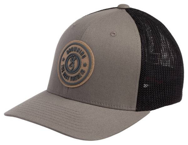 Browning Men's Dusted Gray Flexfit Hat product image