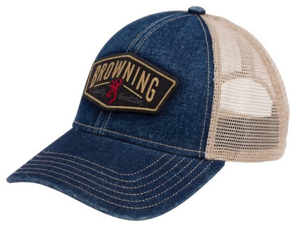 Browning Men's Slack Denim Snapback Hat product image