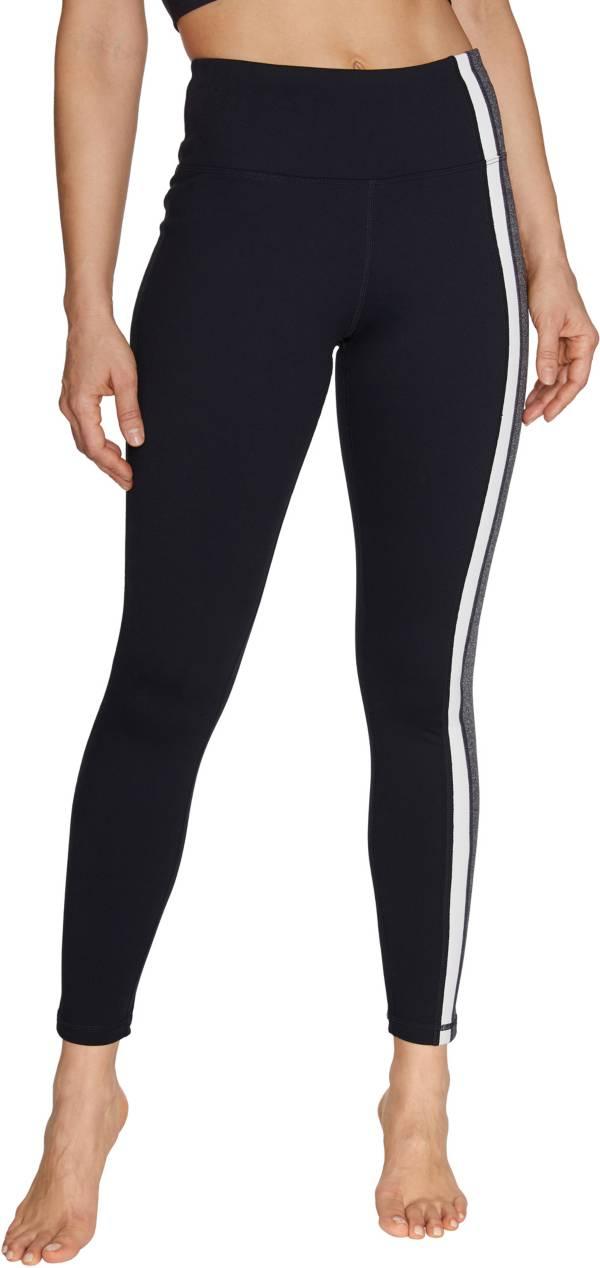 Betsey Johnson Women's Side Stripes High Rise Leggings product image